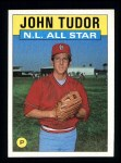 1986 Topps #710   -  John Tudor All-Star Front Thumbnail