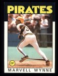 1986 Topps #525  Marvell Wynne  Front Thumbnail