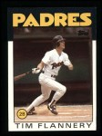 1986 Topps #413  Tim Flannery  Front Thumbnail