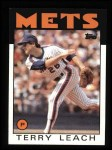 1986 Topps #774  Terry Leach  Front Thumbnail
