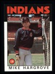 1986 Topps #136  Mike Hargrove  Front Thumbnail