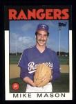 1986 Topps #189  Mike Mason  Front Thumbnail