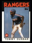 1986 Topps #559  Tommy Dunbar  Front Thumbnail