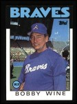 1986 Topps #51   Braves Team Checklist Front Thumbnail