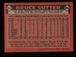 1986 Topps #620  Bruce Sutter  Back Thumbnail