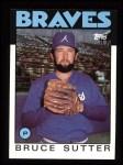 1986 Topps #620  Bruce Sutter  Front Thumbnail