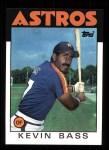 1986 Topps #458  Kevin Bass  Front Thumbnail