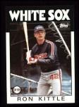1986 Topps #574  Ron Kittle  Front Thumbnail