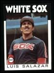 1986 Topps #103  Luis Salazar  Front Thumbnail