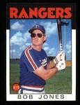 1986 Topps #142  Bob Jones  Front Thumbnail