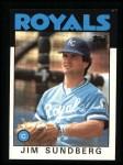 1986 Topps #245  Jim Sundberg  Front Thumbnail