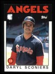 1986 Topps #193  Daryl Sconiers  Front Thumbnail