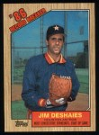 1987 Topps #2   -  Jim Deshaies Record Breaker Front Thumbnail