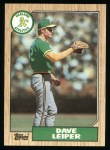 1987 Topps #441  Dave Leiper  Front Thumbnail