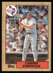 1987 Topps #629  Larry Parrish  Front Thumbnail