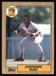 1987 Topps #747  Johnny Ray  Front Thumbnail