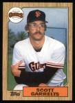 1987 Topps #475  Scott Garrelts  Front Thumbnail