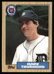 1987 Topps #361  Mark Thurmond  Front Thumbnail