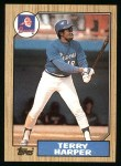 1987 Topps #49  Terry Harper  Front Thumbnail