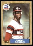 1987 Topps #482  Daryl Boston  Front Thumbnail