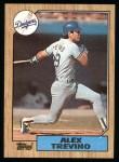 1987 Topps #173  Alex Trevino  Front Thumbnail