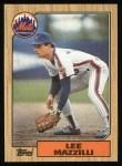 1987 Topps #198  Lee Mazzilli  Front Thumbnail