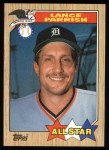 1987 Topps #613   -  Lance Parrish All-Star Front Thumbnail