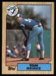 1987 Topps #510  Tom Henke  Front Thumbnail