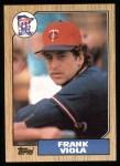 1987 Topps #310  Frank Viola  Front Thumbnail