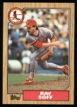 1987 Topps #671   Ray Soff  Front Thumbnail