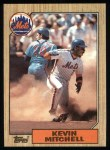 1987 Topps #653  Kevin Mitchell  Front Thumbnail