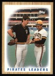 1987 Topps #131   Pirates Team Front Thumbnail