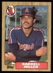 1987 Topps #337  Darrell Miller  Front Thumbnail