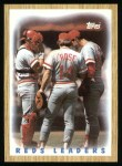 1987 Topps #281   -  Pete Rose Reds Leaders  /  Pete Rose Front Thumbnail