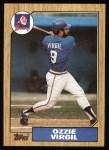 1987 Topps #571  Ozzie Virgil  Front Thumbnail