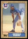 1987 Topps #639  Gerald Perry  Front Thumbnail