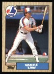 1987 Topps #127  Vance Law  Front Thumbnail