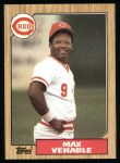 1987 Topps #226  Max Venable  Front Thumbnail