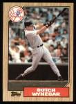 1987 Topps #464  Butch Wynegar  Front Thumbnail
