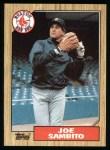 1987 Topps #451  Joe Sambito  Front Thumbnail