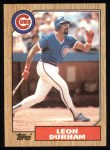1987 Topps #290  Leon Durham  Front Thumbnail