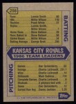 1987 Topps #256   -  George Brett Royals Leaders  /  George Brett Back Thumbnail