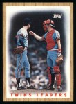 1987 Topps #206   Twins Team Front Thumbnail