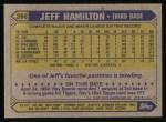 1987 Topps #266  Jeff Hamilton  Back Thumbnail
