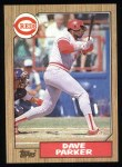 1987 Topps #691  Dave Parker  Front Thumbnail