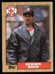 1987 Topps #285  Dennis Boyd  Front Thumbnail