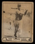 1940 Play Ball #93  Harry Danning  Front Thumbnail