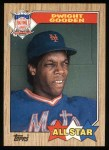 1987 Topps #603   -  Dwight Gooden All-Star Front Thumbnail