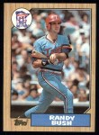 1987 Topps #364  Randy Bush  Front Thumbnail