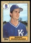 1987 Topps #554  Buddy Biancalana  Front Thumbnail